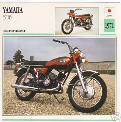 1970-72 YAMAHA R5: Manual Madness!