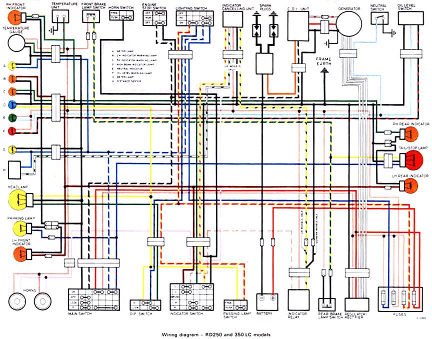 Wiring Diagram Yamaha Mio